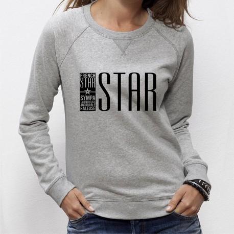 SWEAT FEMME French STAR