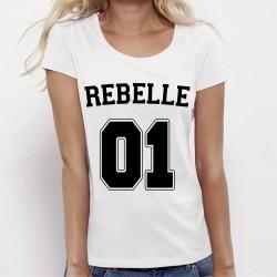 T-shirt femme REBELLE 01