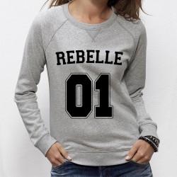 SWEAT femme REBELLE 01