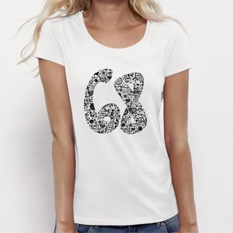 T-shirt vintage 68