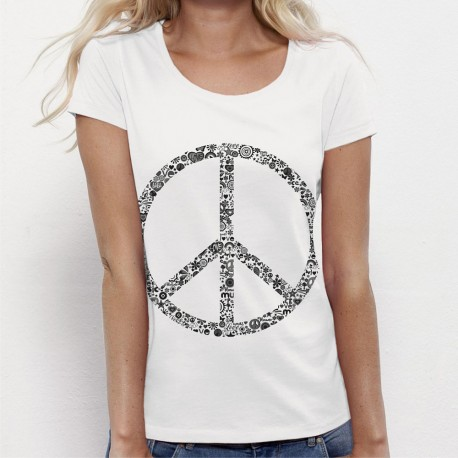 Tshirt Peace and Love