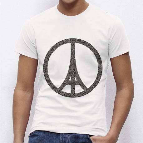 Tshirt homme JE SUIS PARIS
