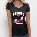"""T-shirt """"Bien dans mes pompes"""""""
