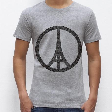 Tee shirt homme JE SUIS PARIS