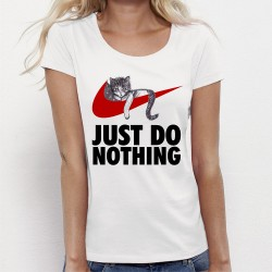 "T-shirt ""JUST DO NOTHING"""