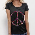 TSHIRT femme Peace and Love