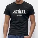 Tee Shirt homme Artiste en HERBE