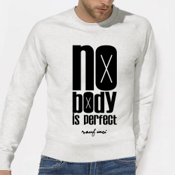 "SWEAT homme original ""Nobody is perfect"""