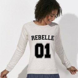 SWEAT femme original REBELLE 01
