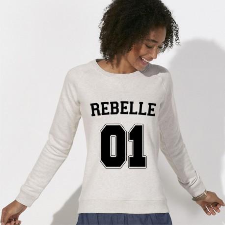SWEAT femme original REBELLE 01