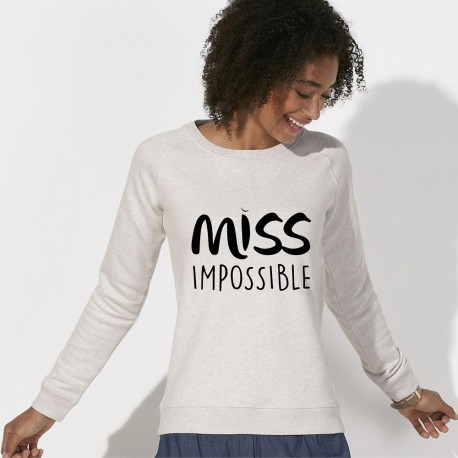 SWEAT tendance femme - MISS IMPOSSIBLE