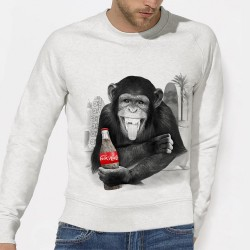 SWEAT original homme COCA-HUETE