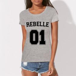 T-shirt femme original REBELLE 01