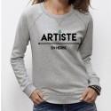 """SWEAT femme tendance - """"Artiste en Herbe"""""""