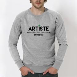 "SWEAT homme original - ""Artiste en Herbe"""