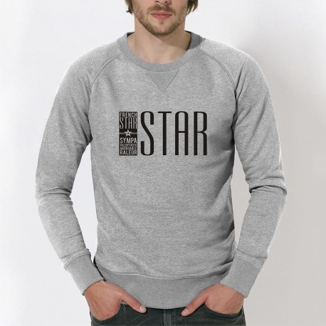 """SWEAT homme - """"FRENCH STAR"""""""
