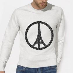 SWEAT homme hommage - JE SUIS PARIS