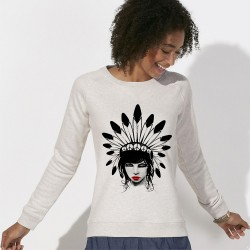 SWEAT SHIRT original femme Indienne