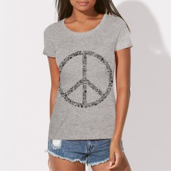 Tee shirt Peace and Love