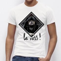 """T-shirt """"C'est qui le BOSS !"""""""