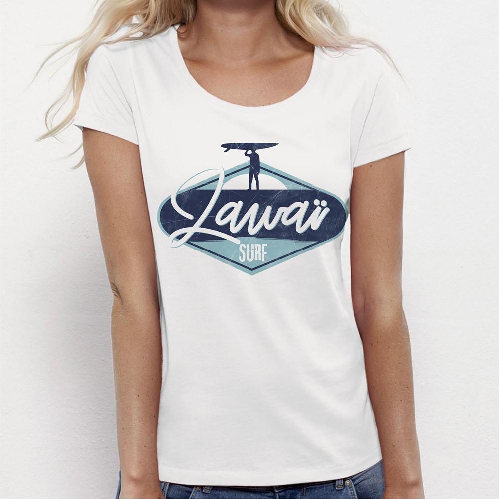 Femme Tshirt Surf Zawaï Zawaï Surf Femme Tshirt Tshirt N0nv8wm