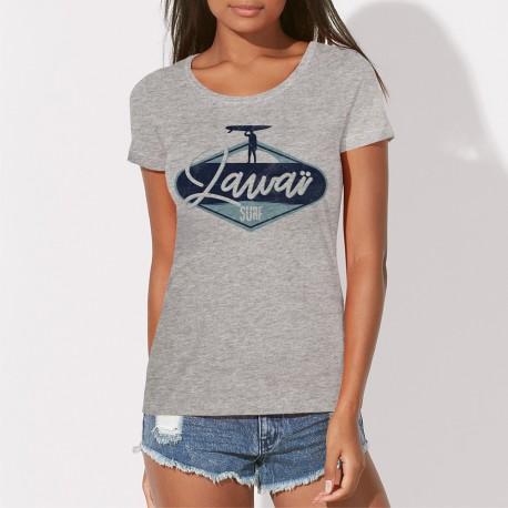 T-shirt Femme original Zawaï Surf