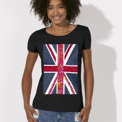 TSHIRT LONDON Peace and Love femme