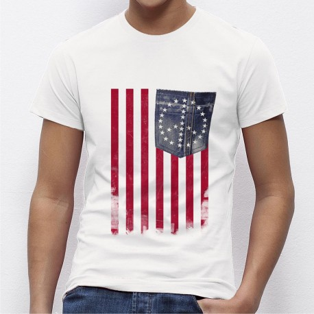 T-Shirt Americain