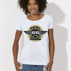 Tee shirt route 66 Feel the freedom