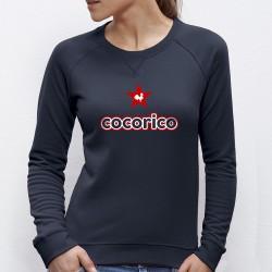 "SWEAT femme - ""cocorico"""