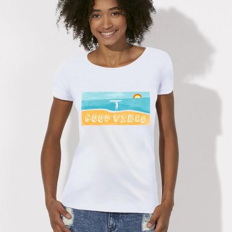 Tee shirt Good Vibes