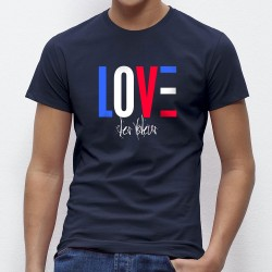 T-shirt officiel des amoureux des bleus