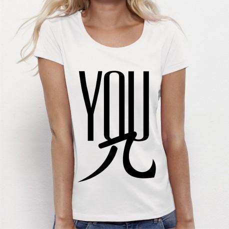 """T-shirt femme """"YOU PI"""""""