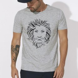 Tee SHIRT Lion homme