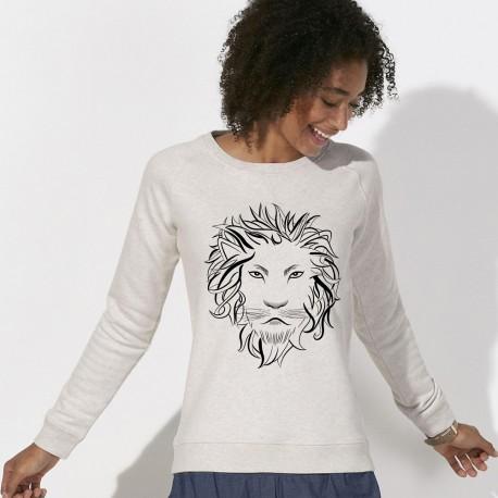 SWEAT Lion Femme
