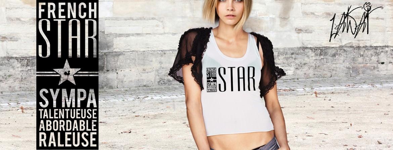 Tshirt Original FRENCH STAR