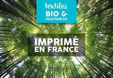 Textiles Bio imprimé en France
